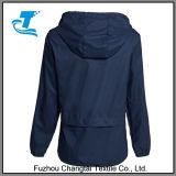 Le Rapide-Séchage des femmes Avant-Ferment la fermeture éclair Packable Hoodie augmentant la jupe de pluie