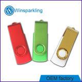 Cores diferentes do disco instantâneo do USB da torção