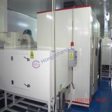 Husillo Conveyorised Dustfree Línea de pintura UV automática