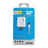 2.4A USB Cargador rápido de la señal de teléfono con cable USB de Tipo C