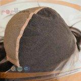 人間の毛髪最も売れ行きの良く自然なカラーレースのかつら(PPG-l-0693)