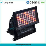 poder más elevado al aire libre LED Wallwasher ligero de 60*5W Rgbaw para la configuración