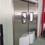 Resistente ao impacto de portas basculantes porta de tráfego da porta de aço inoxidável