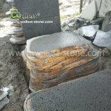 歩む庭テラスの美化のための任意形の溶岩の石