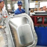 Embutición Trolley formando carretilla de mano que hace la máquina
