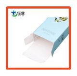 Caja de papel personalizado con estampado de oro para el producto cosmético