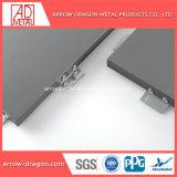 Revestimento a pó de fácil montagem alumínio alveolado painéis para fachadas/ Fachada