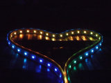 Striscia indirizzabile rigida al neon magica dell'indicatore luminoso di striscia della flessione LED di colore 30/48/60 LEDs/M DC12V Digitahi RGB LED con la certificazione del FCC di RoHS del Ce
