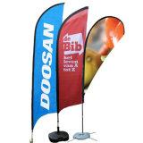 2,5 m de la publicité extérieure Banner Stand Teardrop double faces drapeau personnalisé d'impression numérique