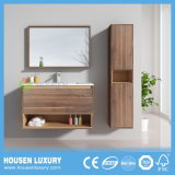 Equipamentos de banho de MDF com acabamento de melamina e estrutura do espelho HS-E1103-800