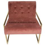 Отель Главная розового цвета ткани в гостиной стулья (S-061)