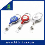 Bobine di vendita calde del distintivo di modo, supporto di scheda ritrattabile di identificazione del yo-yo
