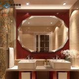 Безрамные для крепления на стене ванной из стекла зеркала заднего вида для обеспечения безопасности
