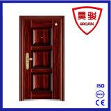 Meistgekauftes Stahlsicherheits-Eisen-Außentür mit Qualitäts-gutem Entwurf