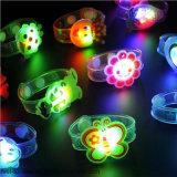 Flash de luz LED multicolorido Brinquedos de banda de Punho partido dança brinquedos fontes de terceiros