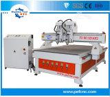 2つの二重ヘッドCNCのルーターの中国の1325の木製製品