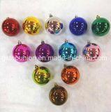 Caja de PVC Baubles brillantes bolas de Navidad Decoración de Navidad S3-Rrb