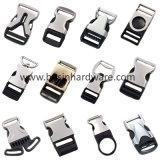 Lateral de plástico de 3 vías de soltar la hebilla de cinturón de seguridad