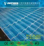 Deux couches d'onde composites en plastique de la ligne de production de tuiles du toit