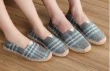 Venta caliente banda Unisex cómodos slip-on zapatos planos