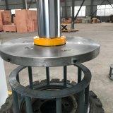 固体タイヤを分解するための機械160トンのフォークリフトのタイヤの出版物