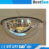 Espejos convexos Espejos de seguridad de tráfico para interiores y exteriores, incluyendo instalar accesorios