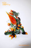 Hbking China Drache-bunte Glaskunst-Pfeife