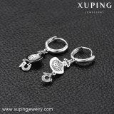 Xuping Gzの方法宝石類市場によって個人化されるデジタルめっきされるロジウムとの5つのレバーの背部イヤリングの調査結果