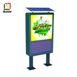 Boîte de moustique solaire Lampe LED de la publicité de la rue affichage de panneau