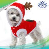 Chien de Noël Vêtements petits chiens Santa costume pour le Pug Chihuahua Yorkshire Chat Vêtements Veste Costume enduire les animaux de compagnie