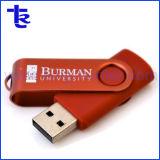 Hot Sale cadeau de promotion en plastique pivotant lecteur Flash USB OTG