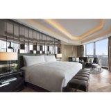木の現代的な薄板にされたボードのホテルの寝室の家具