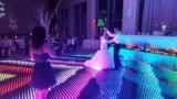Boda programable P62.5 digital portátil de Baile de LED