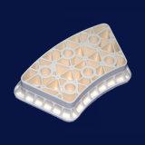 Pezzi di ricambio lavorati porosi della lavatrice di ceramica refrattaria dell'allumina Al2O3 in linea
