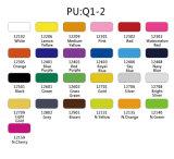 卸し売り容易な切口PU/Glitter/PVCロール熱伝達のビニール
