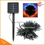 Solarzeichenkette-feenhafte Licht-Girlande-Festival-Solarlicht der lampen-LED für Hochzeits-Garten-Partei-Dekoration-Licht
