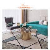 Henar-Hotel-Möbel-bequemes Wohnzimmer-Sofa mit Stuhl-Tisch-Set