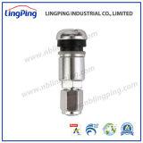 Les MPT valves à pneus valve du capteur de TPMS, d'aluminium dans les tiges de serrage