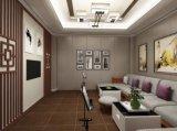 Le marbre le grain de bois composite en plastique panneau mural et Wallboard (A192)