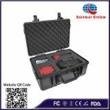 Detector de líquido do reservatório de mão para serviço de inspeção de segurança de líquidos e sistema de detecção