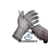 Оптовая торговля рабочей хлопка трикотажные защитные руки перчатками