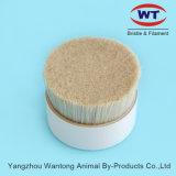 Chungking 60~90%Topsの自然で白い沸かされた剛毛