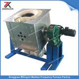 Forno di fusione del ferro di induzione d'acciaio del metallo (100KG 100KW)