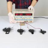ventilatore assiale di raffreddamento senza spazzola L del ventilatore di CC del basamento 105mm12-18V