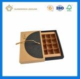 Роскошный матовой поверхности ящика подарочная упаковка в ленту узел передней крышки блока цилиндров
