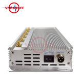 Audio stampo dell'emittente di disturbo di WiFi dell'emittente di disturbo del cellulare /Wi-Ficdma/GSM/3G2100MHz/4glte Cellphone/Wi-Fi/Bluetooth, emittenti di disturbo di 3G GSM CDMA