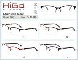 De nieuwe Roestvrije Optische Fabrikanten van de Frames van het Metaal van de Stijl Eyewear in China