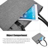 Frauen-Schulter-Beutel-Nylonaktenkoffer-beiläufiger Handtaschen-Laptop-Kasten