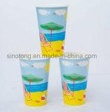 Одноразовые Настраиваемые двойные PE холодный напиток чашки бумаги