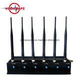 Emittente di disturbo portatile del segnale di alto potere per il telefono mobile 3G e 2g, 4G, 5g, emittente di disturbo di WiFi di alto potere 2.4G